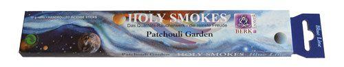 Holy Smokes, Blue Line, Patchouli Garden