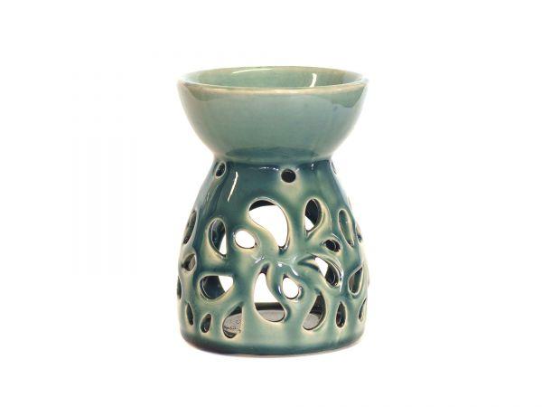Paisley, Aromalampe - Keramik, grau