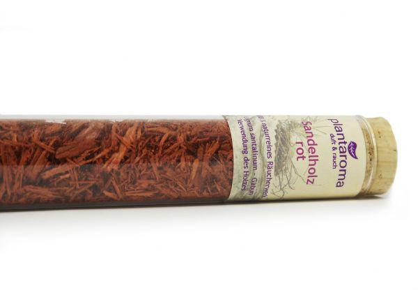Sandelholz rot, 100 % naturreines Räucherwerk
