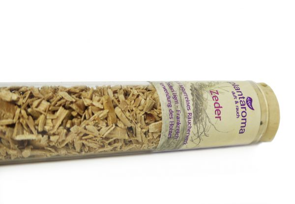 Zedernholz, 100 % naturreines Räucherwerk