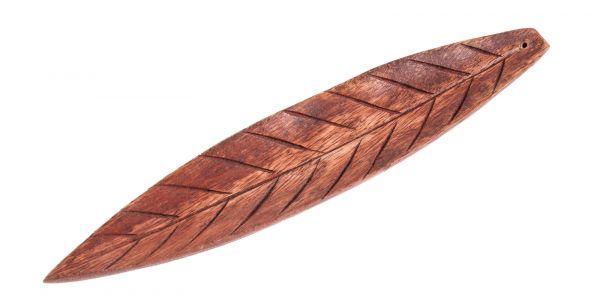 Holzhalter Brown Leaf, braun