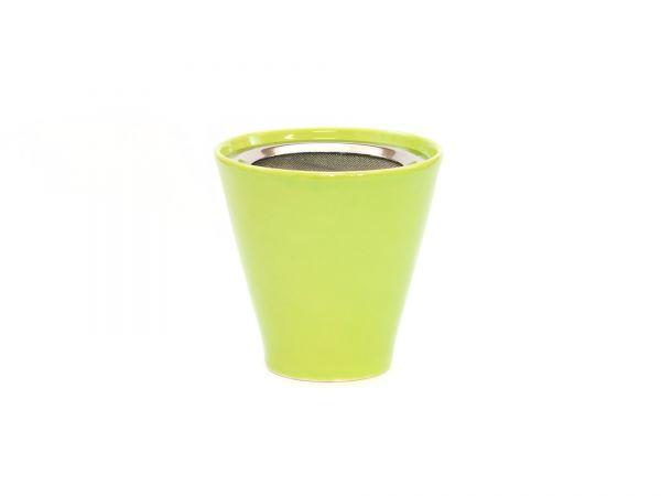 Jule grün, Weihrauchbrenner aus Keramik