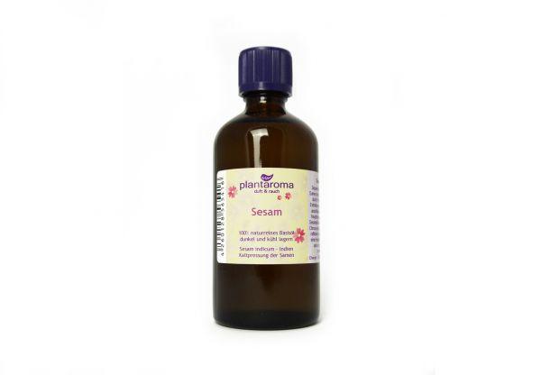 Sesamöl, 100 % naturreines Basisöl