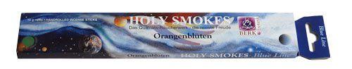 Holy Smokes, Blue Line, Orangenblüten
