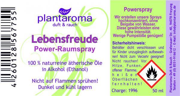 Power-Raumspray - Lebensfreude